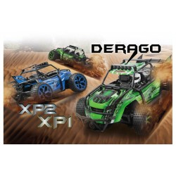 Beachbuggy leksaksbil Derago XP2 4WD 2,4G blue