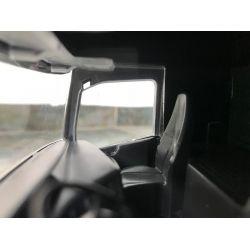 Leksakslastbil Scania DHL distributionsbil med släp. Emek 1:25