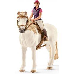 Schleich Häst Tennessee Walker med ryttare