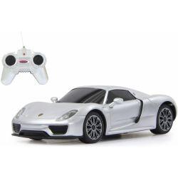 Porsche 918 Spyder silver Skala 1:24